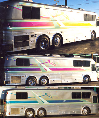 Goldnrod Graphix painted coach